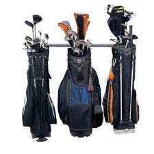 3 Golf Bag Small Wall Mounted Sports Rack