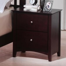 2 Drawer Nightstand by LYKE Home