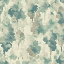 "Modern Nature Mirage 27' x 27"" Abstract Wallpaper"