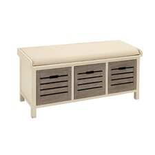 Wooden Storage Entryway Bench by Cole & Grey
