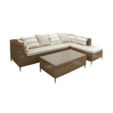 2 Piece Sectional Seating Group with Cushion by Cole & Grey