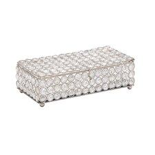 Metal Crystal Jewelry Box
