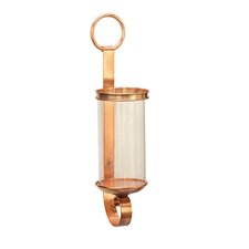 Metal and Glass Sconce