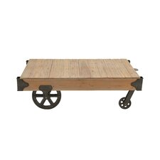 Loft Wood Utility Cart / Coffee Table by Cole & Grey