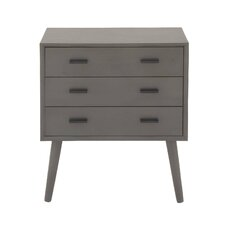 3 Drawer Wood Accent Chest by Cole & Grey