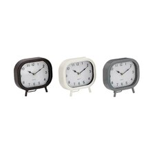 Metal Table Clock (Set of 3)