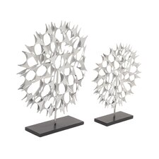 2 Piece 3D Star Sculpture Set
