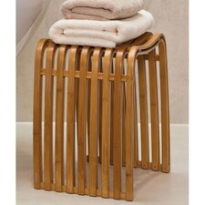 Wood Free Standing Bathroom Stool