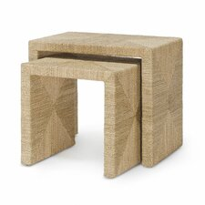 Jeffrey Alan Marks Woodside 2 Piece Nesting Tables by Palecek