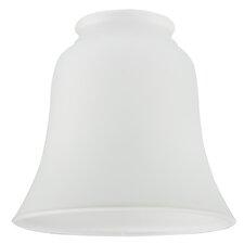 12,1 cm Lampenschirm aus satiniertem Glas