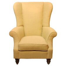 Bartlett Linen Wingback Armchair by Darby Home Co®