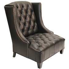 Bartlett Linen Wing back Chair by Darby Home Co