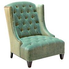 Ryegate Velvet Wing back chair by House of Hampton
