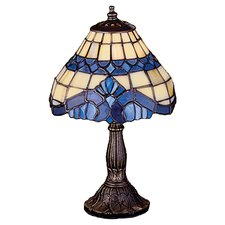 "Art Glass Baroque 11.5"" Table Lamp"