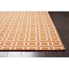 Julian Orange Indoor/Outdoor Area Rug