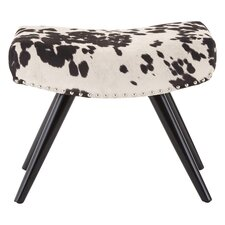 Rodeo Leather Ottoman