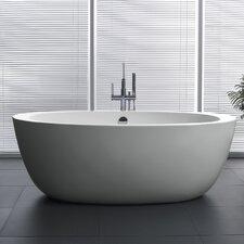 Yield Series 67'' x 35.5'' Freestanding Soaking Bathtub by ANZZI