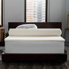 Instant Pillow Top Memory Foam and Fiber Hybrid Mattress Topper