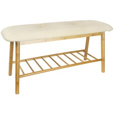 Upholstered Entryway Bench by Home Ease