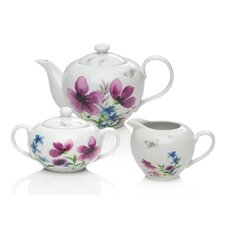 Lydia 3 Piece Tea Set
