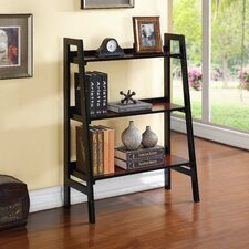 """Hilbert 40"""" Leaning Bookcase"""