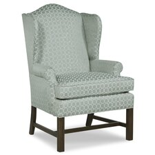 Chippendale Wingback Chair by Fairfield Chair