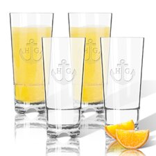 Personalized Tritan 16 oz. High Ball Glass (Set of 4)