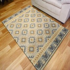 Arnhem Hand-crafted Silver Area Rug