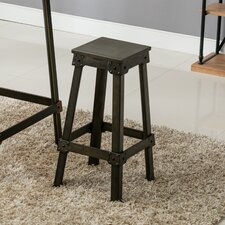 French Industrial Counter Bar Stool (Set of 2) by Erik C