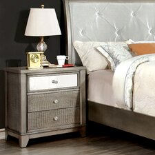 Whitworth 3 Drawer Nightstand by House of Hampton
