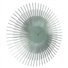 """17"""" Sunburst Wall Clock"""