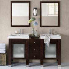 Devon 59 Double Bathroom Vanity Set by Ronbow