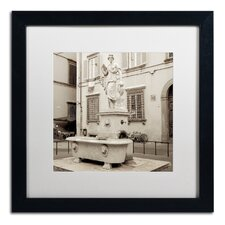 Lucca I' Framed Photographic Print  by Trademark Fine Art