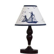 "Explorer Nautical Baby Nursery 10"" Empire Lamp Shade"