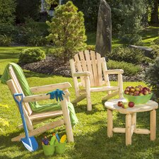 Cedar 3 Piece Adirondack Seating Group