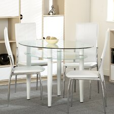 Martha Dining Set with 4 Chairs
