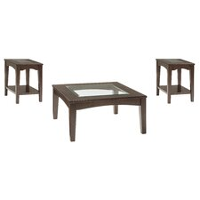 Barrine 3 Piece Coffee Table Set by Darby Home Co®