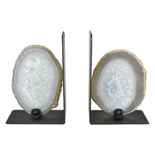 Agate Bookends (Set of 2)