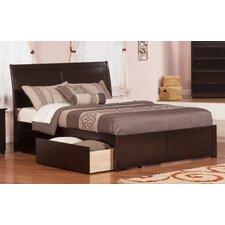 Brookline Storage Platform Bed by Three Posts