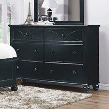 Zee 6 Drawer Dresser