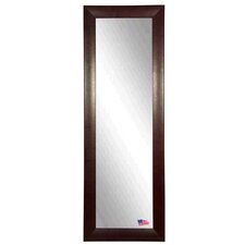 Stitched Leather Full Length Body Mirror