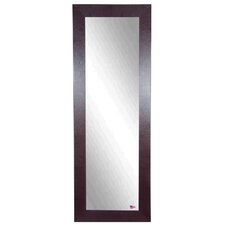 Brown Leather Full Length Body Mirror
