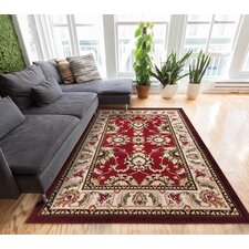 Ruark Red Area Rug