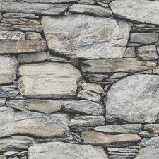 Distinctive Stone Wall 10m x 52cm Wallpaper Roll