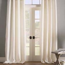 Baillons Solid Blackout Thermal Grommet Curtain Panels (Set of 2)