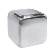 Epicureanist Stainless Ice Cube (Set of 6)
