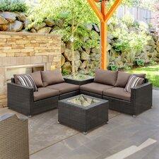 Edine 6 Piece Seating Group with Cushions by Hokku Designs
