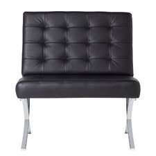 Atrium Bonded Leather Lounge Chair by Offex