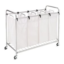 Heavy-Duty Quad Laundry Sorter