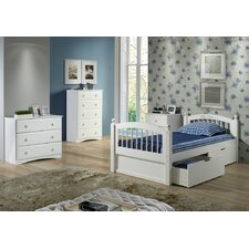 Isabelle Twin Slat Bed with Storage by Viv + Rae